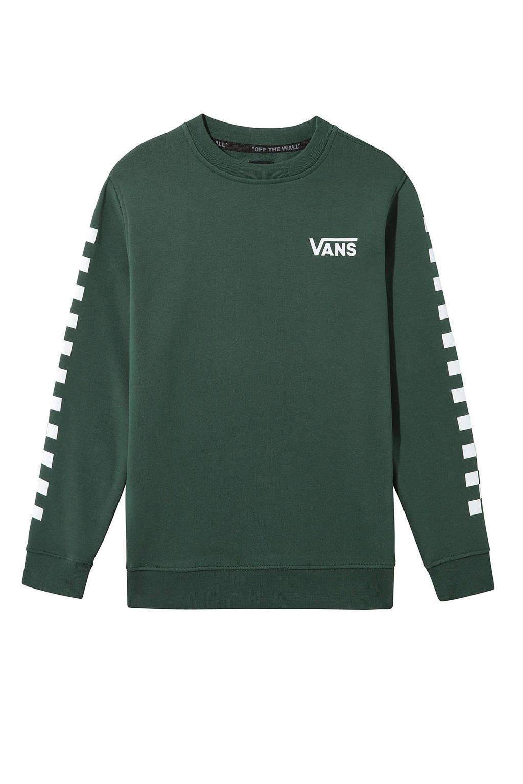 VANS sweater groen, Groen