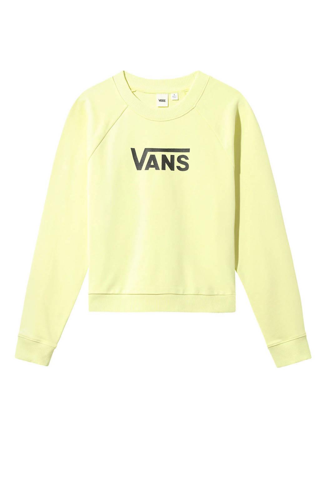 VANS sweater geel, Geel