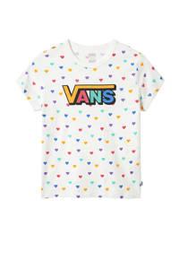VANS T-shirt wit/multi, Wit/multi