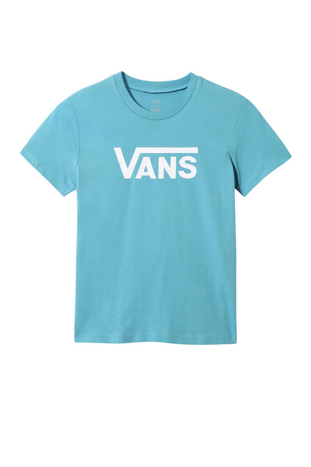 VANS T-shirt blauw, Blauw