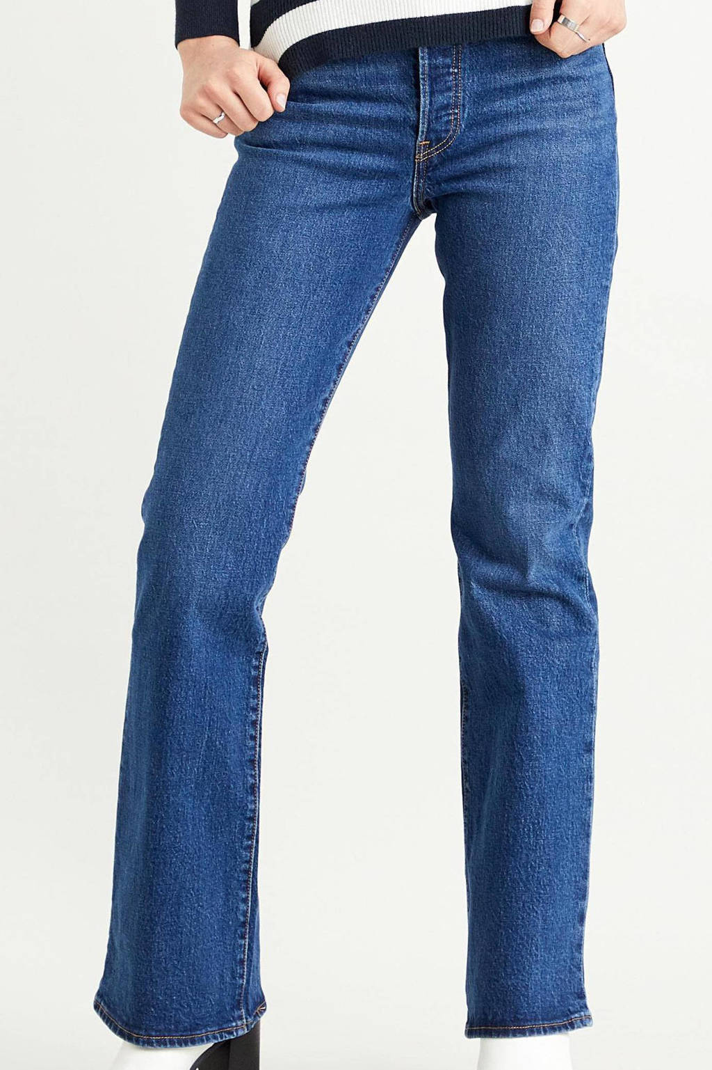 Levi's Ribcage high waist bootcut jeans turn up, TURN UP