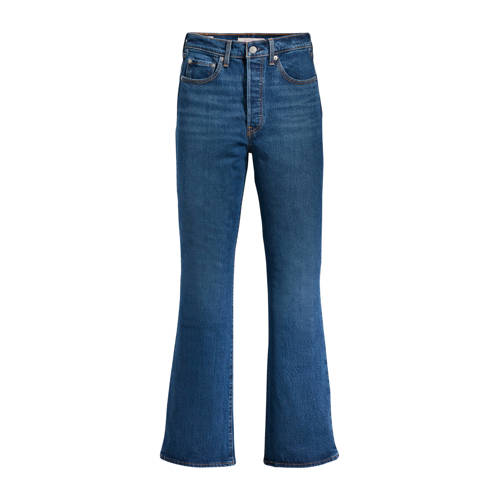 Levi's Ribcage high waist bootcut jeans turn up
