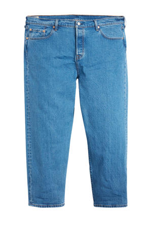 501 cropped mom jeans blauw