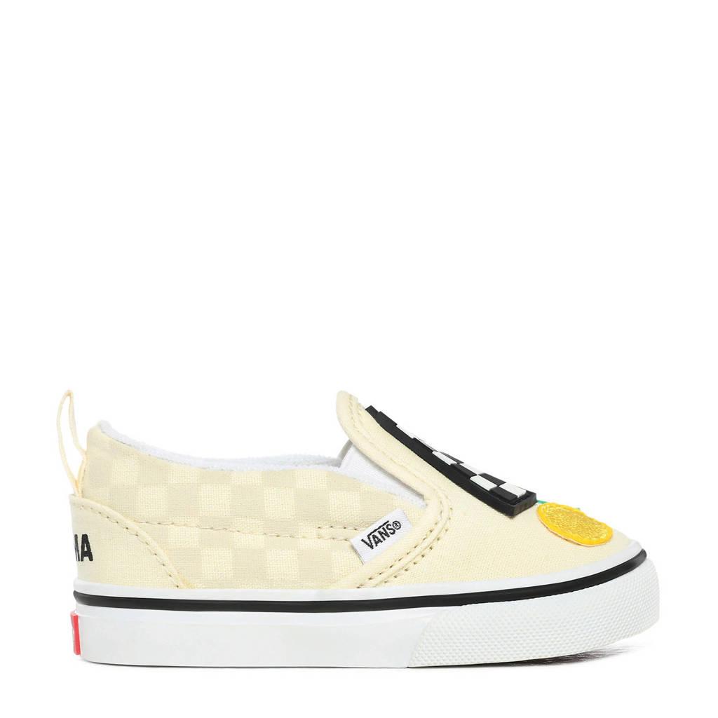 VANS Slip-On V MoMa sneakers geel/wit, Geel/wit
