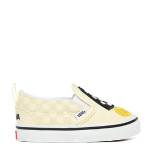 Slip-On V MoMa sneakers geel/wit