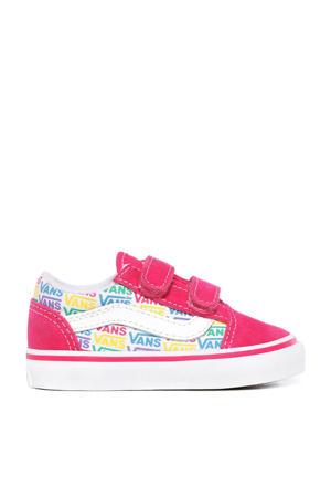 Old Skool V  sneakers roze/wit