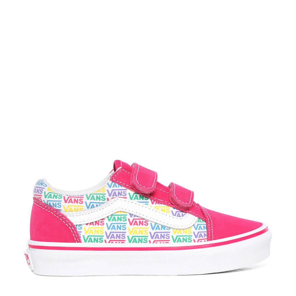 VANS Old Skool V Rainbow sneakers roze/multi, Roze/multi