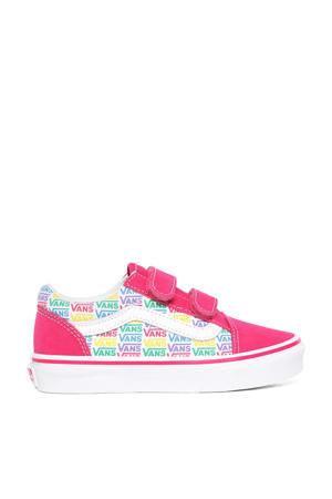 Old Skool V Rainbow sneakers roze/multi