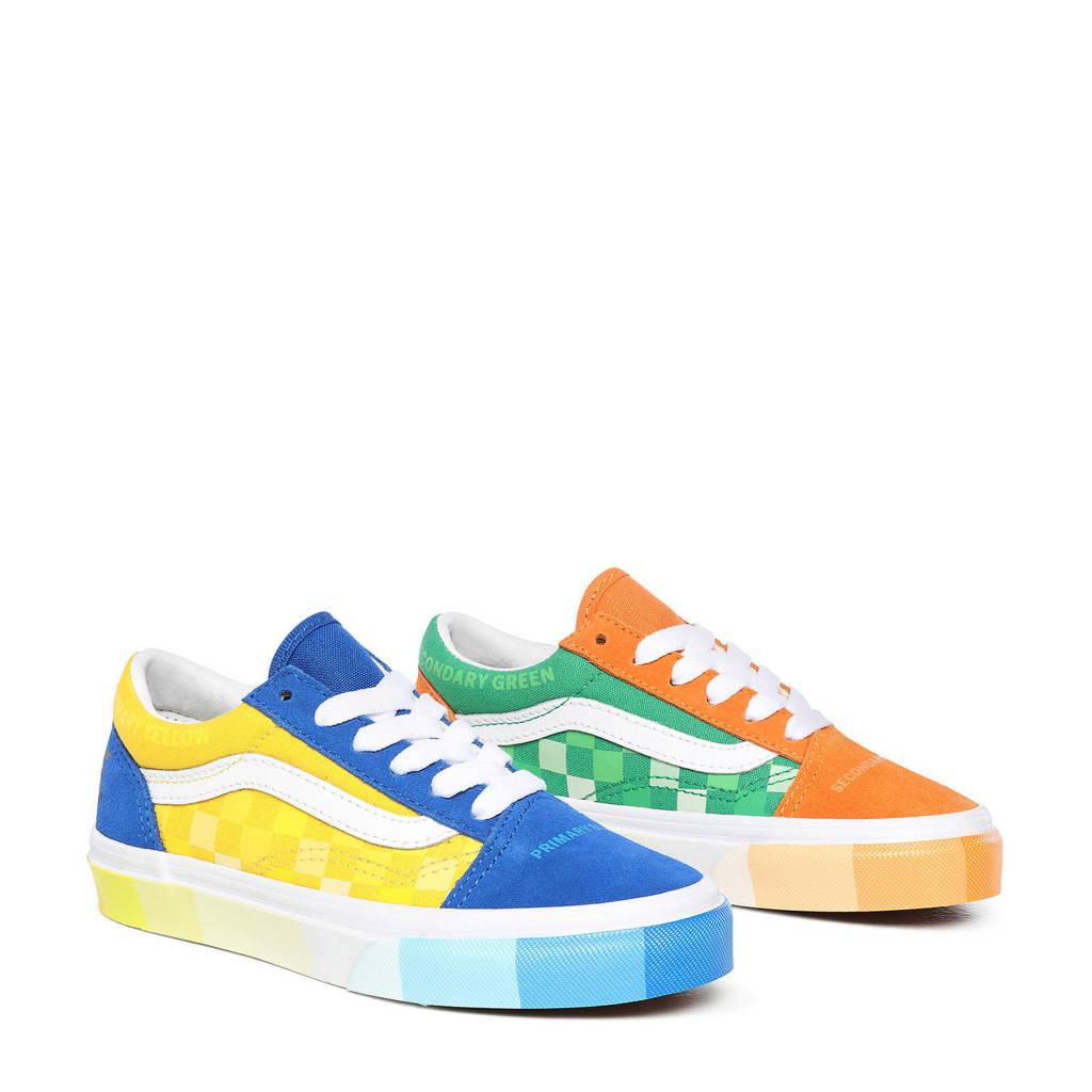 VANS Old Skool UY MOMA sneakers kobaltblauw/multi, Kobaltblauw/multi