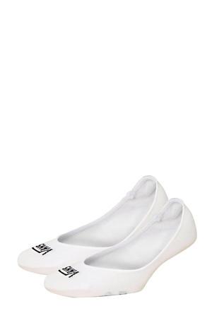no-show sneakersokken - set van 2 wit
