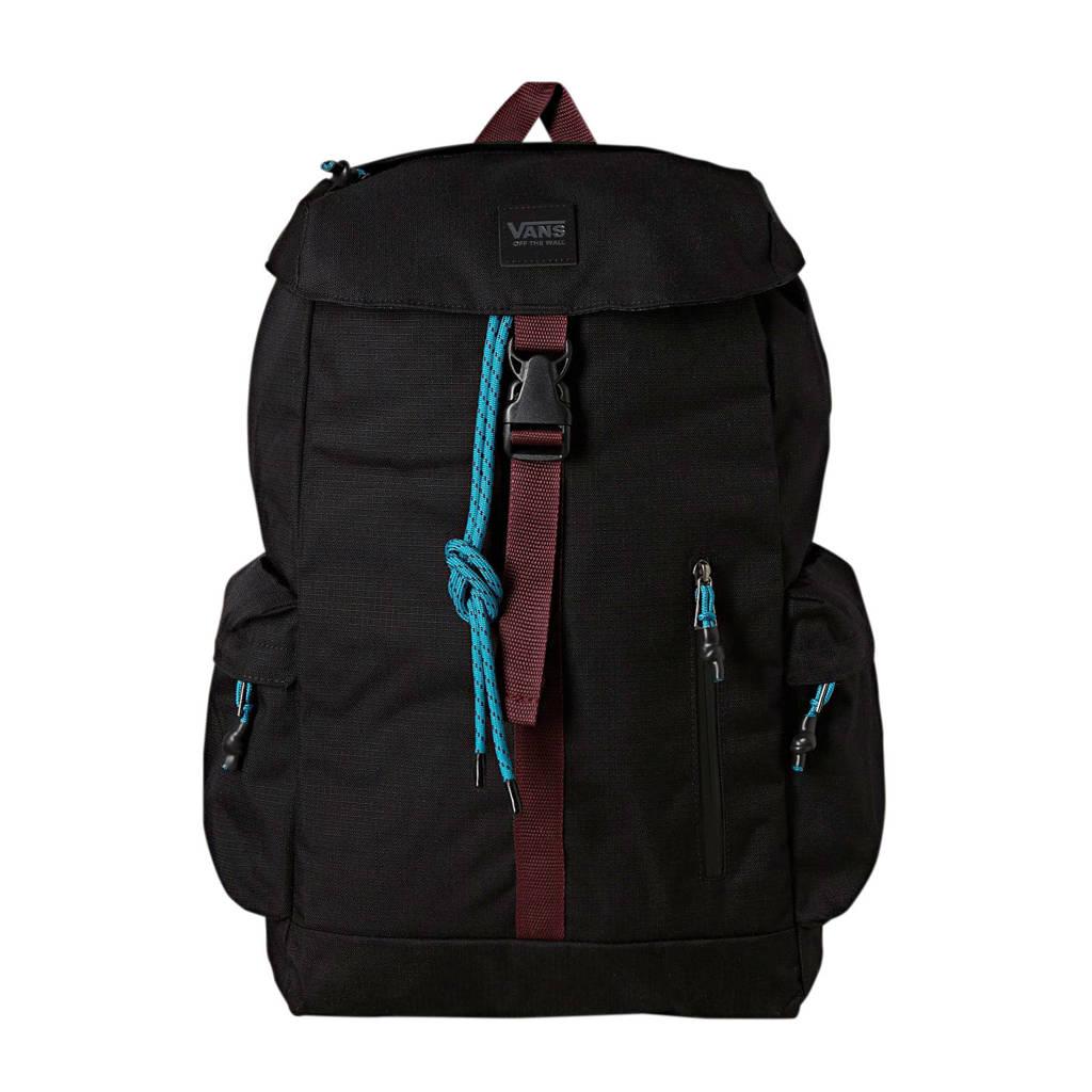 VANS   Ranger Plus rugzak zwart/donkerrood, Zwart/donkerrood