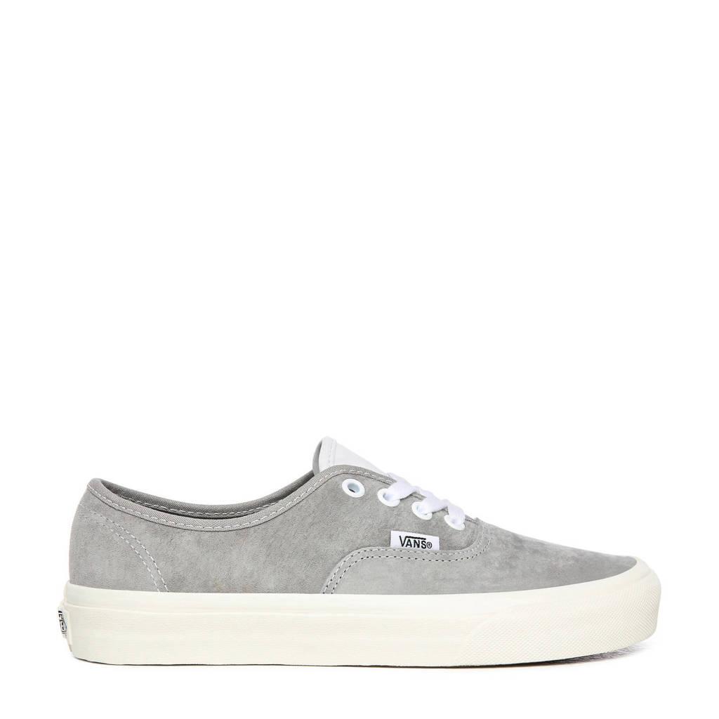 VANS Authentic  suède sneakers grijs, Grijs/wit