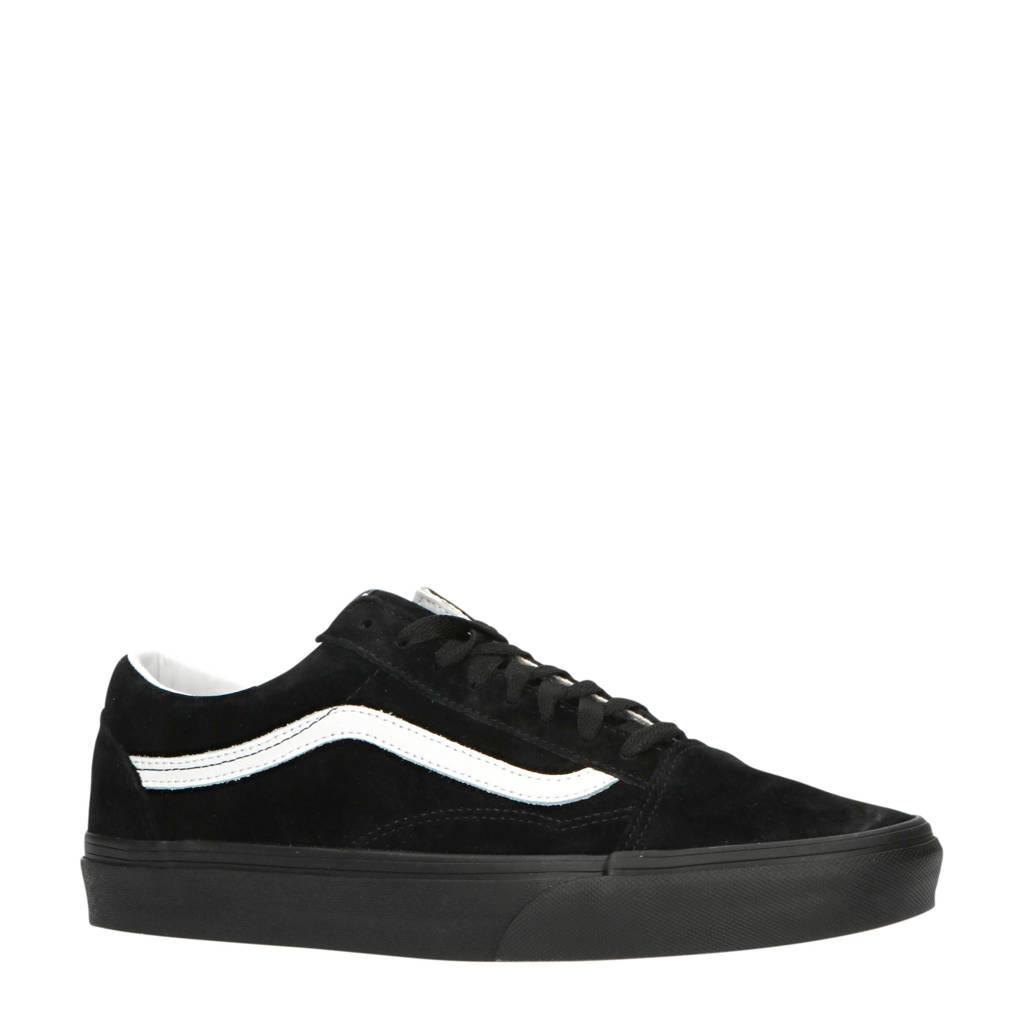 VANS Old Skool  suède sneakers zwart/wit, Zwart/wit
