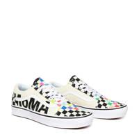 VANS x MoMA ComfyCush Old Skool sneakers wit/zwart/multi, Wit/zwart/multi