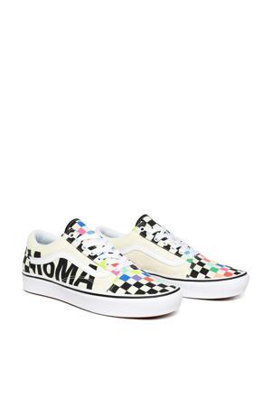 ComfyCush Old Sko MOMA sneakers wit/zwart/multi
