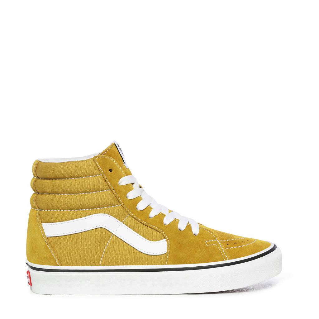 VANS SK8-Hi  sneakers okergeel, Okergeel/wit
