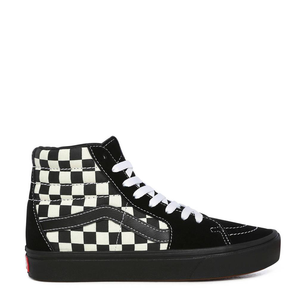 VANS ComfyCush SK8-Hi  sneakers zwart/wit, Zwart/wit