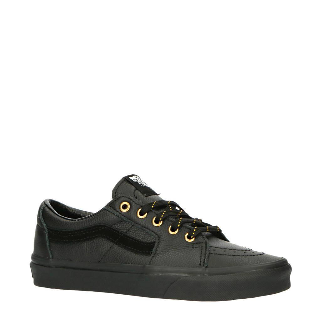 VANS UA SK8-Low  leren sneakers zwart, Zwart