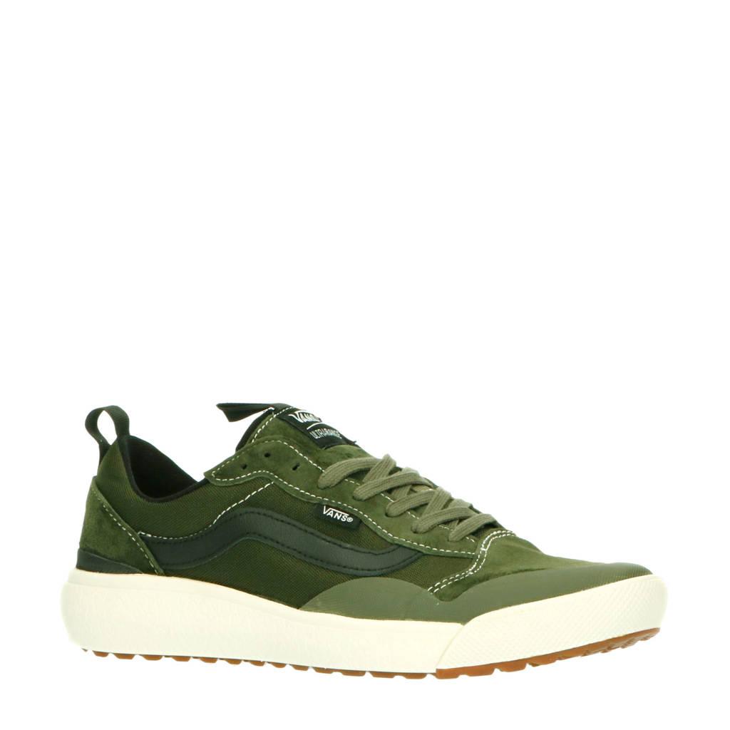 VANS UltraRange EXO Supply suede sneakers groen, Groen