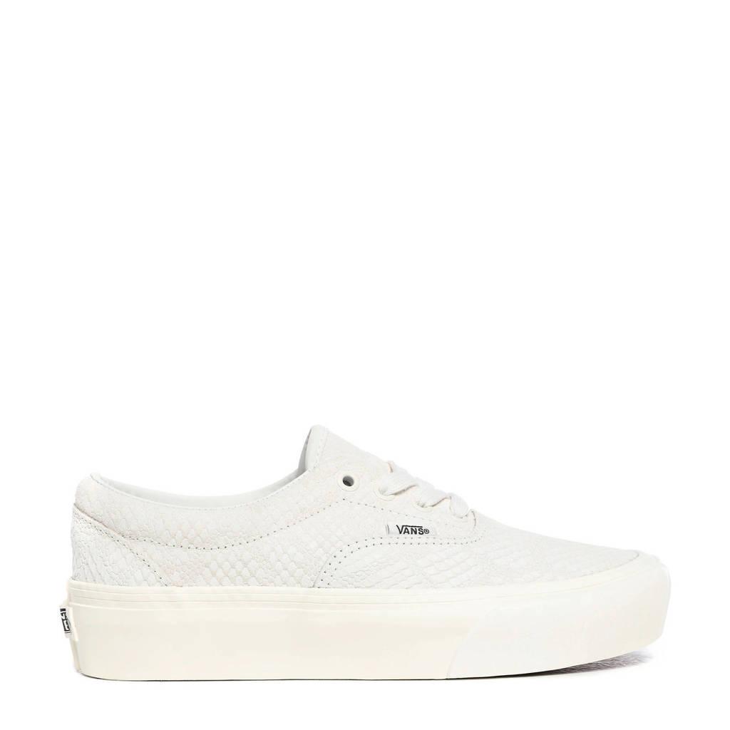 VANS UA Era Platform sneakers met slangenprint wit, Wit