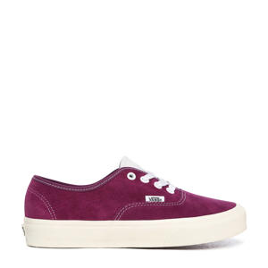 Authentic  suède sneakers donkerrood