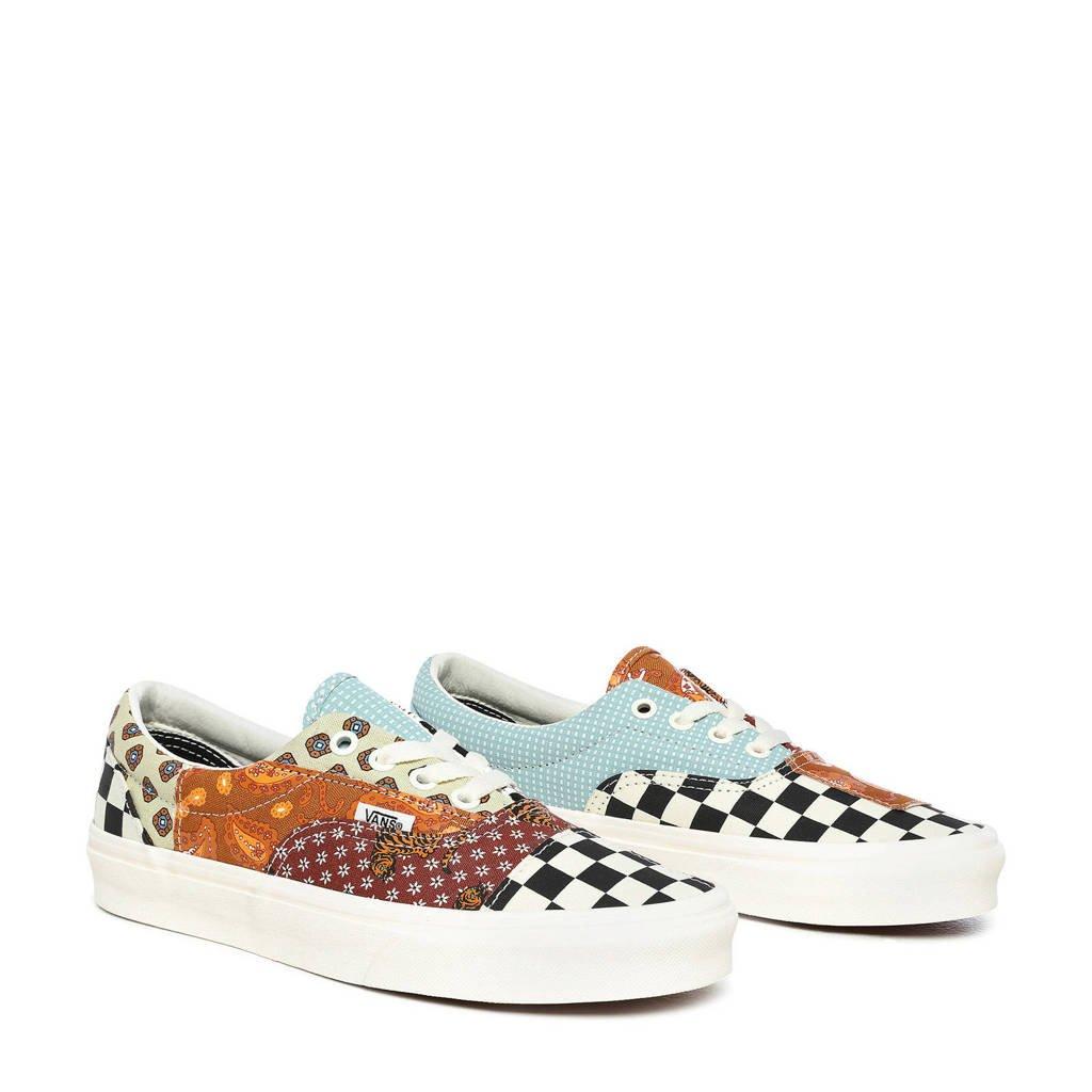 VANS ERA  sneakers met patchwork wit/multi, Wit/multi