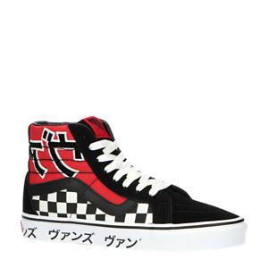 SK8-Hi Reissue ComfyCush Japanese sneakers zwart/rood/wit