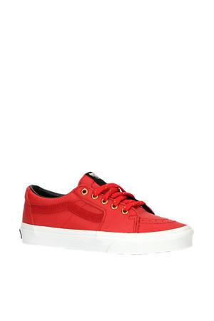 UA SK8-Low  leren sneakers rood
