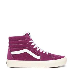 SK8-Hi  suede sneakers paars/wit