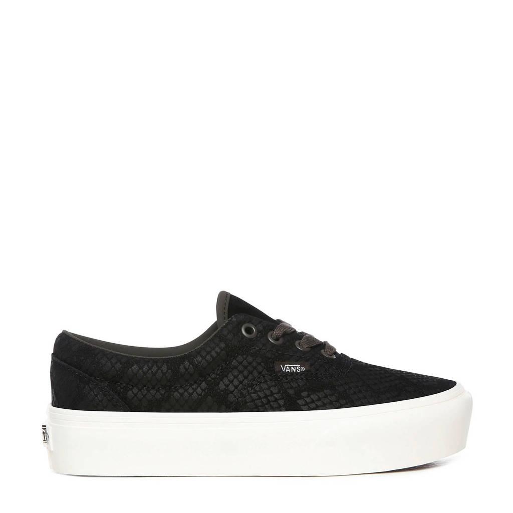 VANS UA Era Platform sneakers met printindruk zwart, Zwart