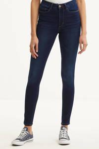 ONLY high waist skinny jeans ONLROYAL dark blue denim, Donkerblauw