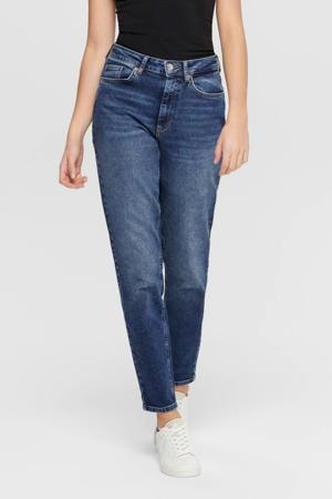 mom jeans high waist ONLVENEDA dark blue denim