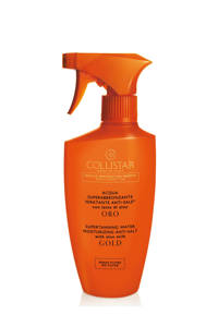 Collistar Supertanning Water With Aloe Milk - Gold - 400 ml