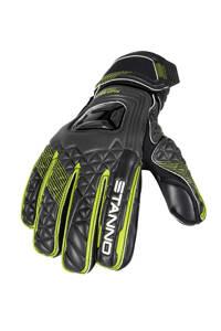 Stanno   keepershandschoenen sr zwart/geel, Zwart/groen