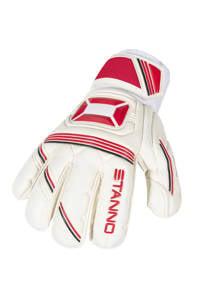 Stanno   keepershandschoenen jr Ultimate Grip II wit/rood, Wit/rood
