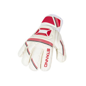 keepershandschoenen jr Ultimate Grip II wit/rood