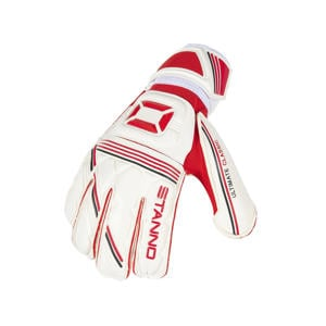 keepershandschoenen sr Ultimate Grip II wit/rood