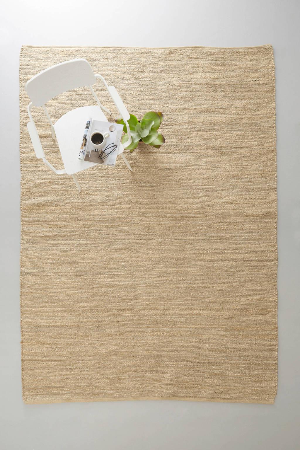 Wehkamp Home vloerkleed Savi  (290x200 cm), Naturel
