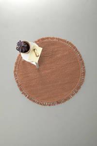 whkmp's own vloerkleed Savi  (Ø110 cm), Koper