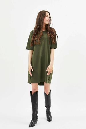 T-shirtjurk Regitza olijfgroen