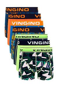Vingino   boxershort - set van 7 multi, blauw/multicolor