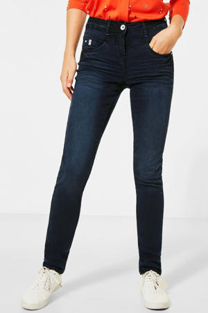 high waist skinny jeans Toronto dark denim