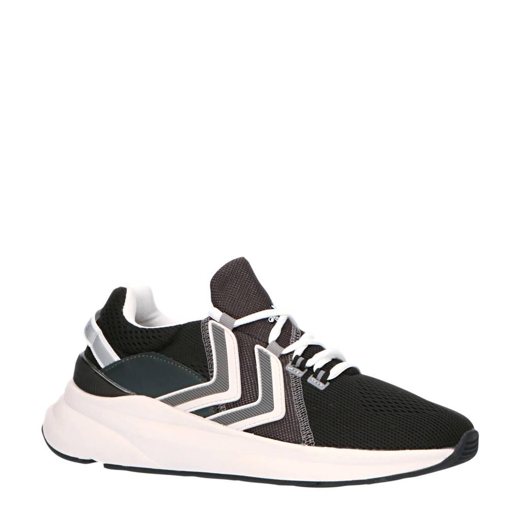 hummel Reach LX 300  sneakers zwart/wit/grijs, Zwart
