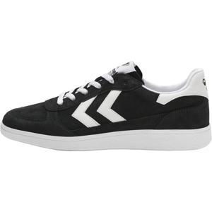 Victory  suede sneakers zwart/wit