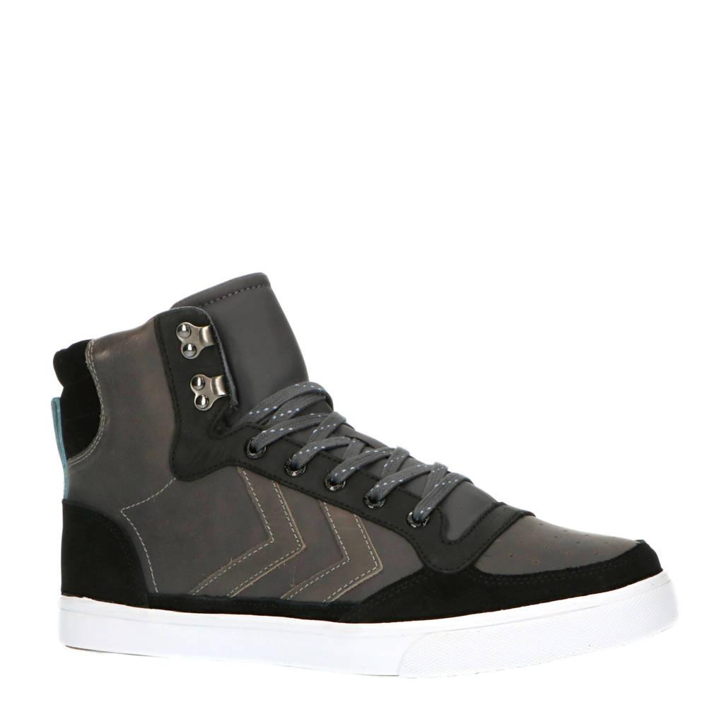 hummel Stadil Winter  sneakers zwart/grijs, Zwart/grijs