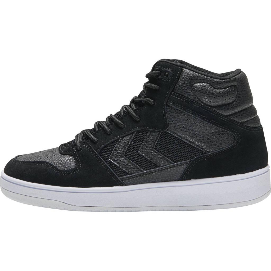 hummel ST Power Play Mid  sneakers zwart, Zwart