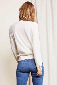 Fabienne Chapot fijngebreide trui Molly bow gebroken wit, Gebroken wit