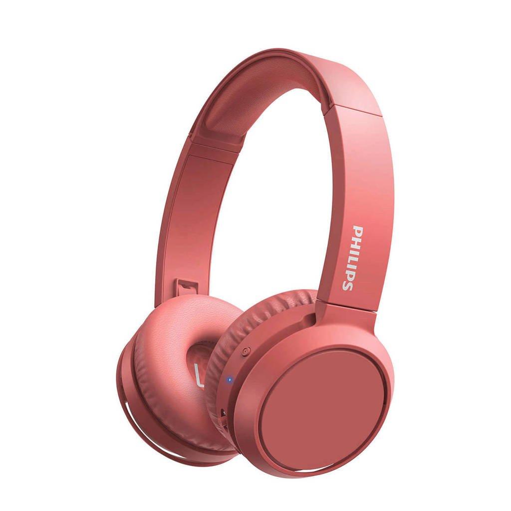 Philips TAH4205 Bluetooth koptelefoon (rood), Rood