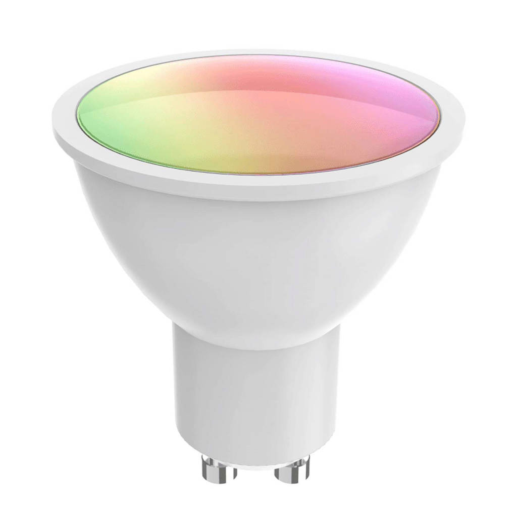 WOOX Smart Spotlight RGBW + CCT R9076 GU10 sfeerverlichting, Wit