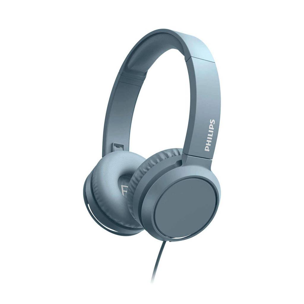 Philips TAH4105BL/00 on-ear hoofdtelefoon (blauw), Blauw